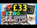 £33 Retro Gaming Laptop from 1999 Compaq Armada E500 part 1