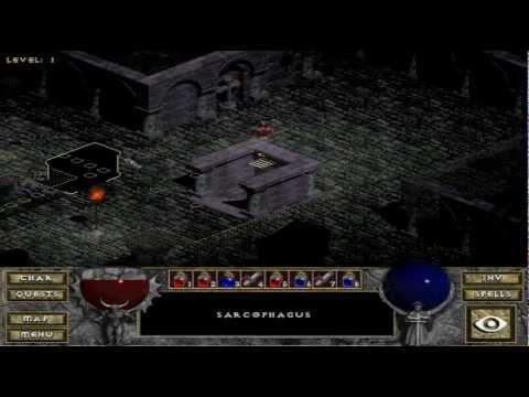 Diablo Hellfire Monk Playthrough Part 1 Of 16 Youtube