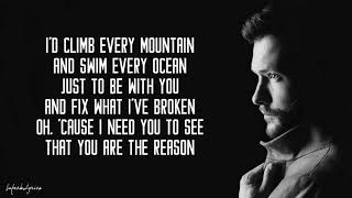 You Are The Reason - Calum Scott (Lyrics) Video