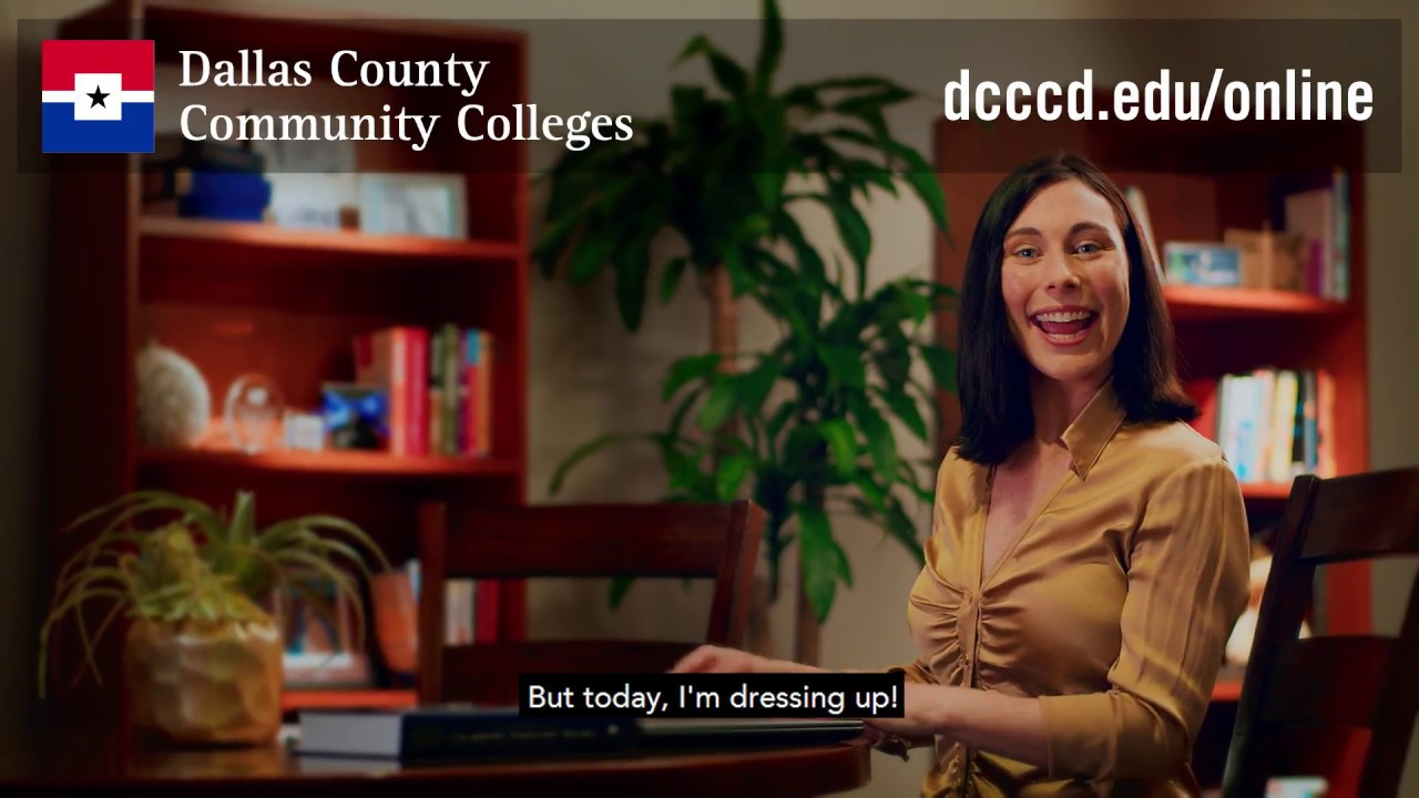 DCCCDs Online Classes Take You From Pajamas To Graduation Cap