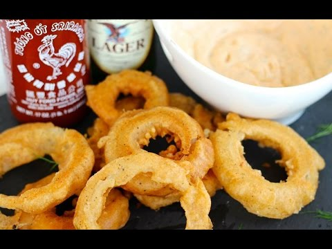 Appetizer Recipe: Beer Battered Onion Rings By Everyday Gourmet With Blakely