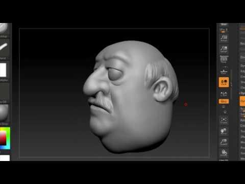 3D Armenian Dad Harut From Abo And Karo Cartoons