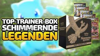 Top-Trainer Box: Schimmernde Legenden  - Pokemon Trading Card Game - Deutsch German - Dhalucard