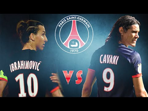Edinson Cavani Vs Zlatan Ibrahimović • Top 5 Goals Battle • 2013-2014 HD • Paris Saint-Germain