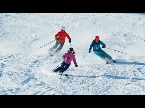 Inside out skiing carving clinic
