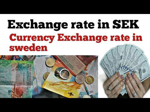 Exchange Rate In Sweden | Sweden Currency To Inr| Euro To Swedish Krona| Sweden Currency To Pkr