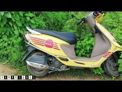 Bounce Scooty Misuse | How To Misuse Bounce Bike Bangalore | Hack Bounce Bike | Sakre Vlogs