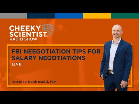 FBI NEGOTIATION TIPS FOR SALARY NEGOTIATIONS w/ Bestselling Author & Former FBI Agent Chris Voss