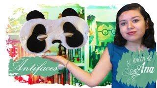 Antifaces de fieltro panda y dalmata | Hablemos de Pandas