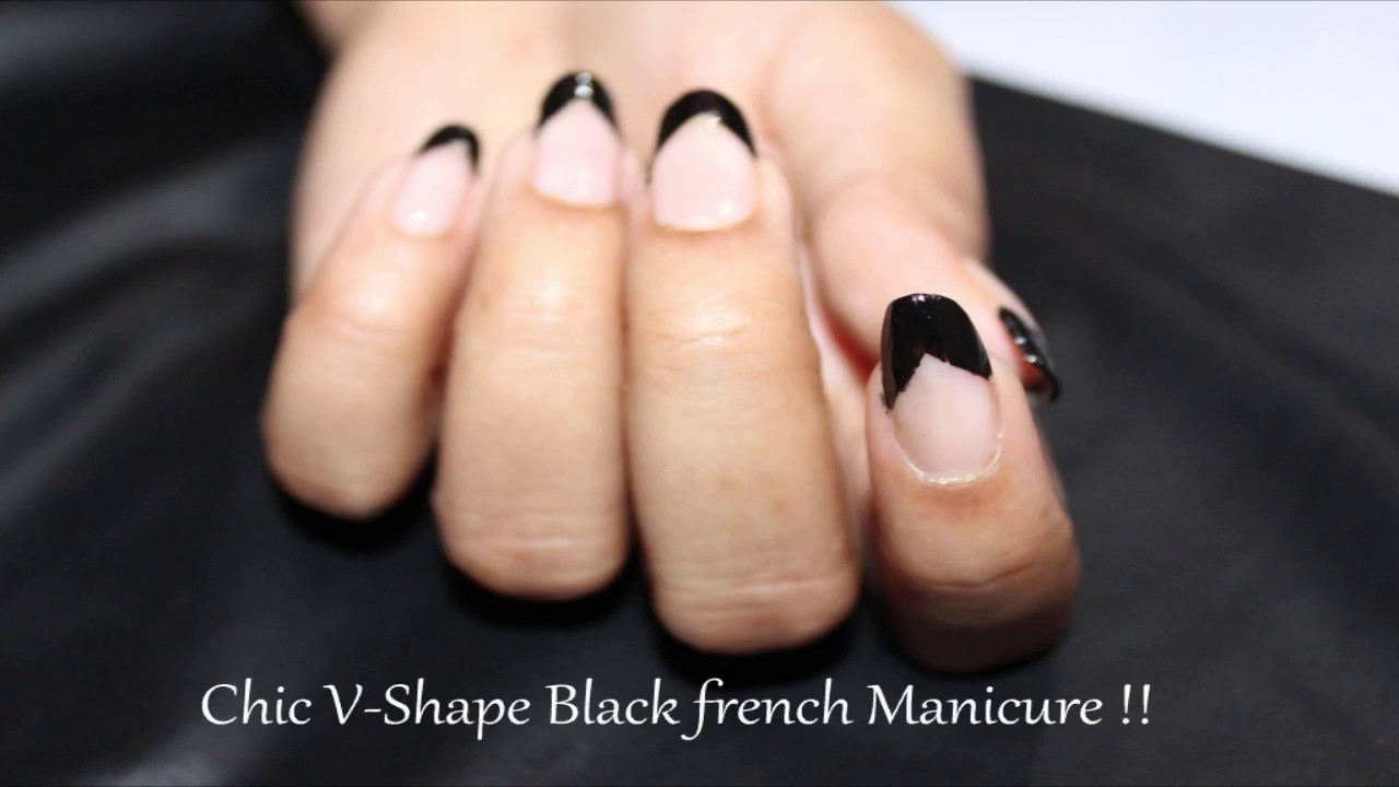 French It Up How To Quick And Easy V Shape Chevron French