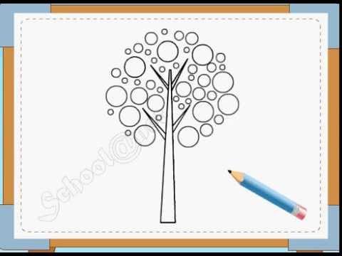 BÉ HỌA SĨ - Thực hành tập vẽ 7: Vẽ cây cối