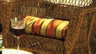 Outdoor Wicker Chair Glider: Cape Cod Style - Wickerparadise.com