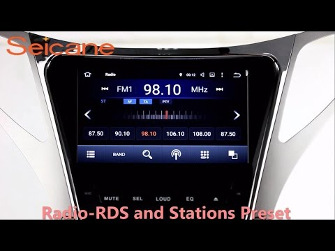 8 inch 20112014 Hyundai Grandeur radio dvd player gps navigation