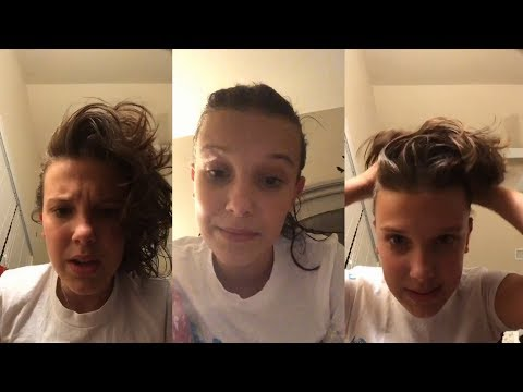 Millie Bobby Brown | Instagram Live Stream | 9 December 2017 [ Celebrates 10 M Followers & Q&A ]