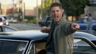 "Supernatural, Dean Winchester dance ""Eye of the Tiger"""