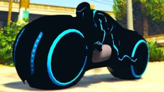 HOW TO GET SECRET TRON BIKE IN GTA 5! (GTA 5 ONLINE)