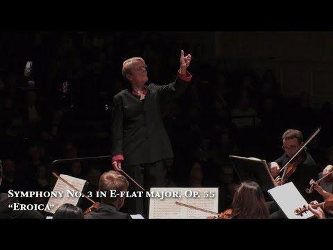 """Beethoven: Symphony No. 3 in E-flat major, Op. 55, """"Eroica"""", PCO, Marin Alsop"""