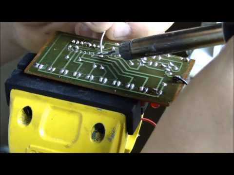 How To Solder A Circuit Board