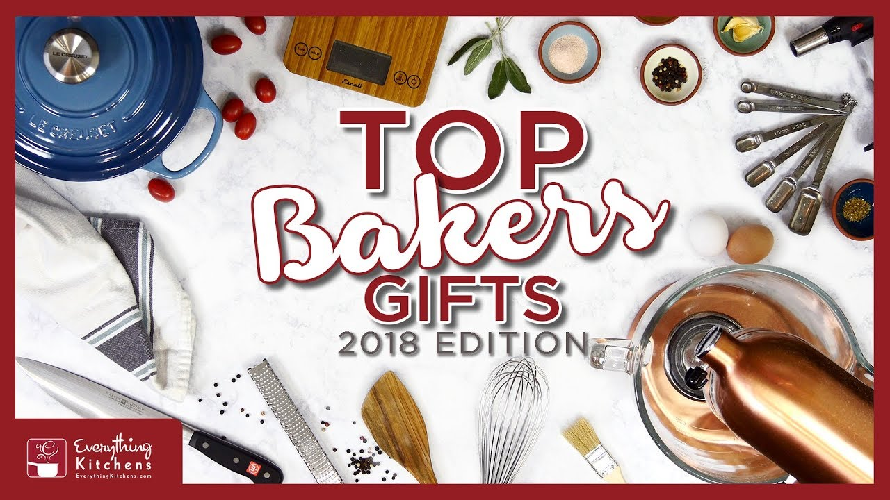 Best Gifts For Bakers 2018 Top Baking Gifts For Christmas Youtube