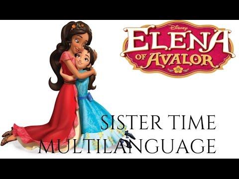 Elena of Avalor - Sister Time Multilanguage