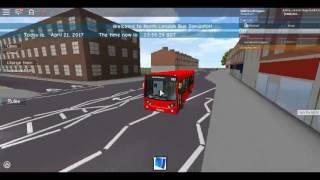 Roblox North London bus Simulator E200 (lunga Verson) dimostratore Metroline itinerario 232 a Wood Green