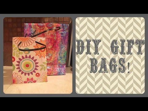 DIY Paper Gift Bags!