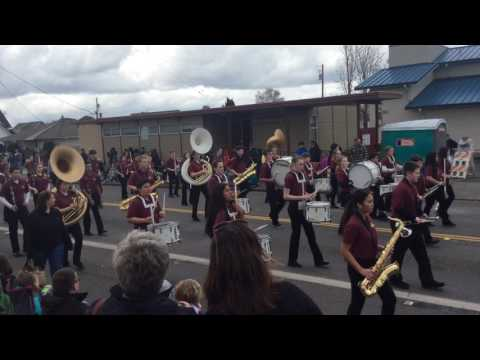 Sumner Middle School Band (Drumline) - 2017 Daffodil Parade