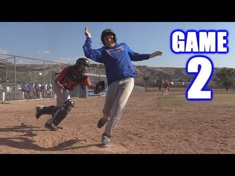 GABE GETS HIT IN THE HEAD! | Offseason Baseball Series | Game 2