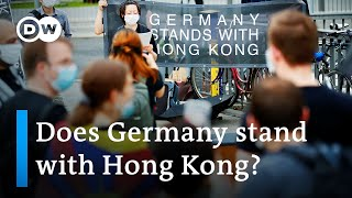 Germany slow to condemn China's Hong Kong security law | DW News