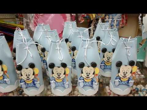 Dulceros Mickey y Minie  bebe