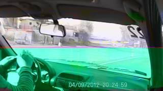 ii runda bydgoski mistrz kierownicy 22 04 2012 onboard michał kauczor opel corsa 1 4 cywil