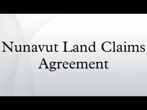 Nunavut Land Claims Agreement