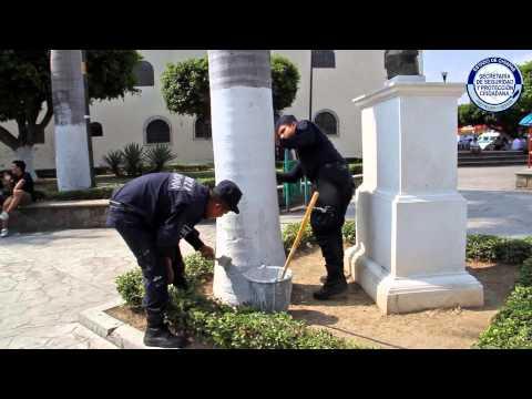 """Con """"Parque Seguro"""" se promueve la prevención en materia de seguridad: Llaven Abarca"""