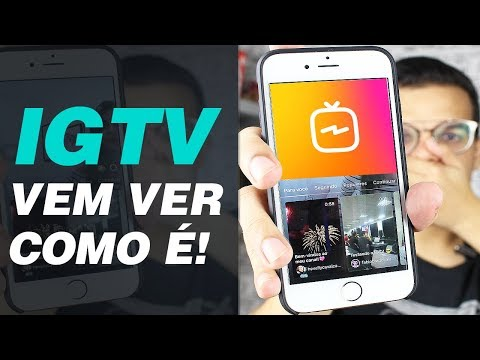 INSTAGRAM TV OU IGTV: VEM VER COMO FUNCIONA! | Papo Tech