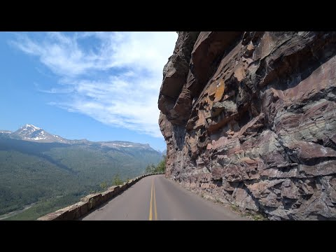 Day 6:14, Canada & Yellowstone, EagleRider, Harley,  Glacier National Park, Black bear, Whitefish 4K