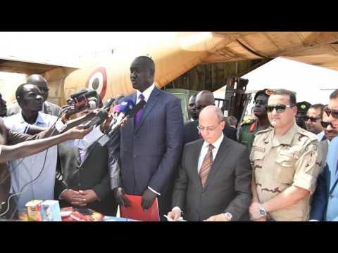 Egypt Sending Aid to South Sudan