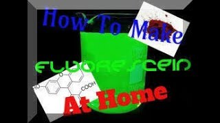 Making Fluorescein With Commercially Availiable Products