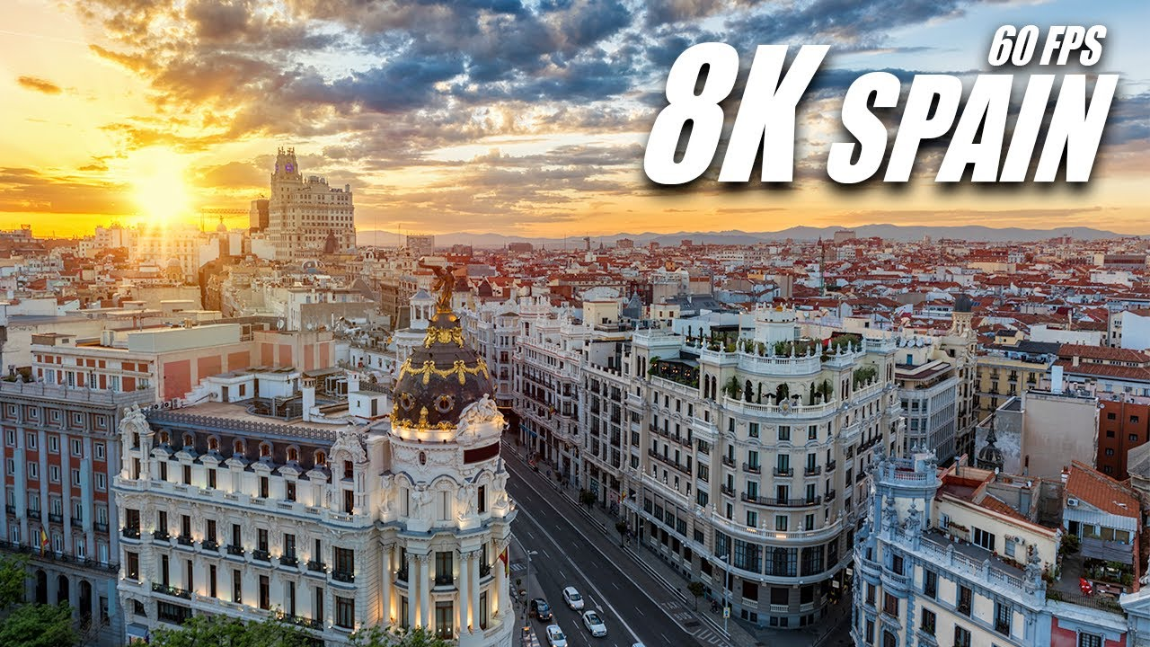 The Beauty of Spain 8K HDR 60FPS DEMO