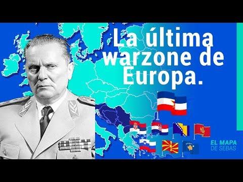 🇧🇦🇭🇷🇸🇮 HISTORIA de YUGOSLAVIA en 13 minutos🇷🇸🇽🇰🇲🇪🇲🇰