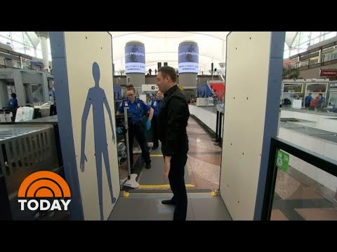 Rossen Reports Exclusive: Your First Look At Faster TSA Screening Technology | TODAY