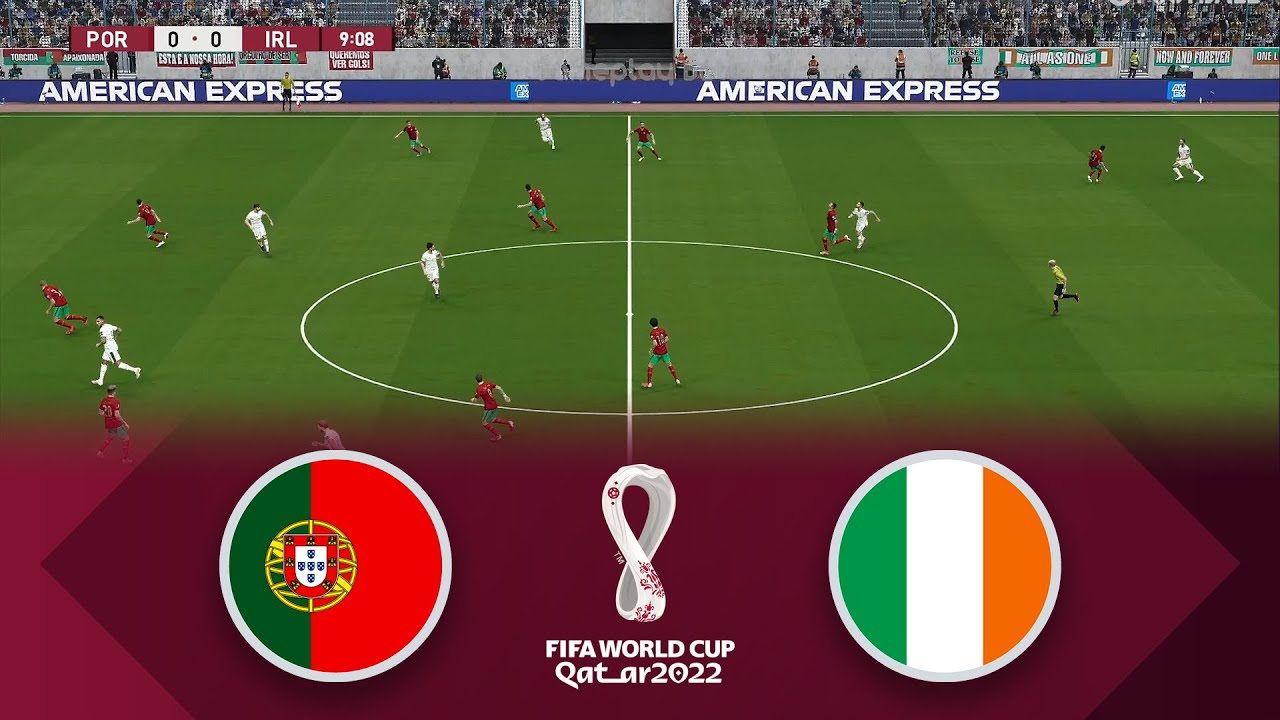 Download PORTUGAL 2-1 IRELAND   World Cup 2022 Qualifiers European