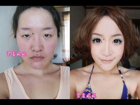 sin afeitar mujer asiática
