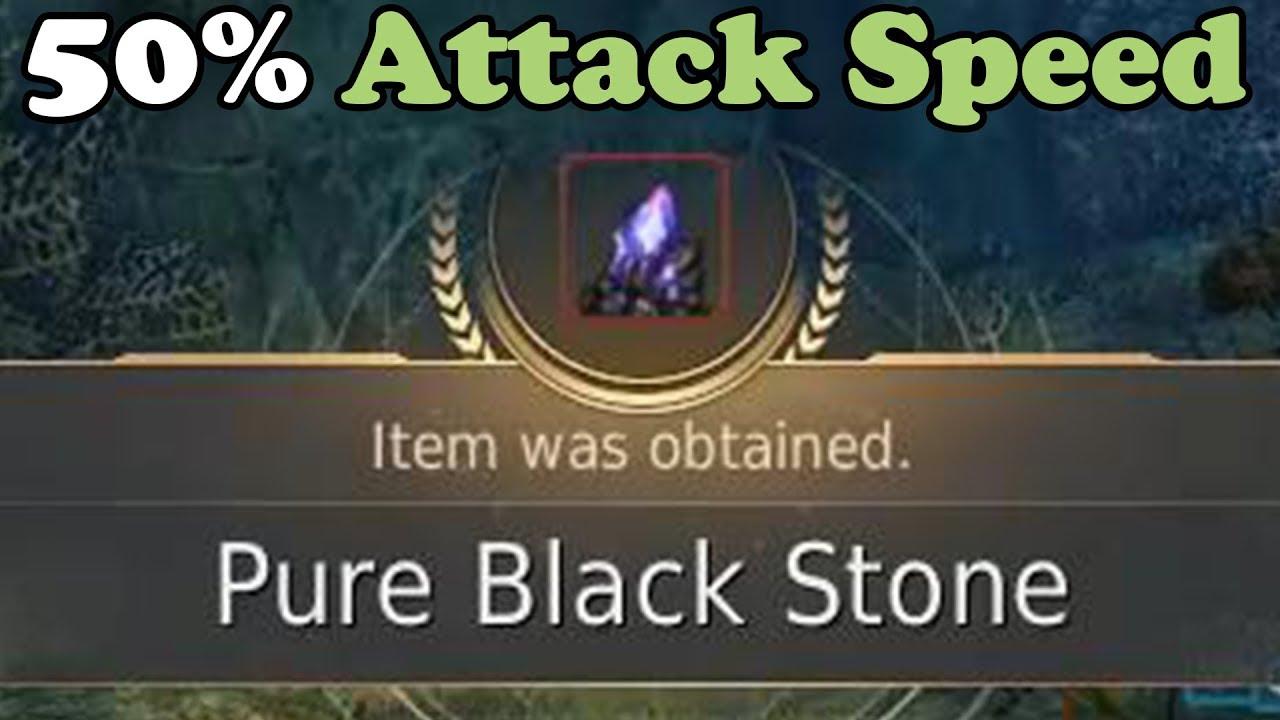 BDO - 50% Attack Speed Pure Black Stone