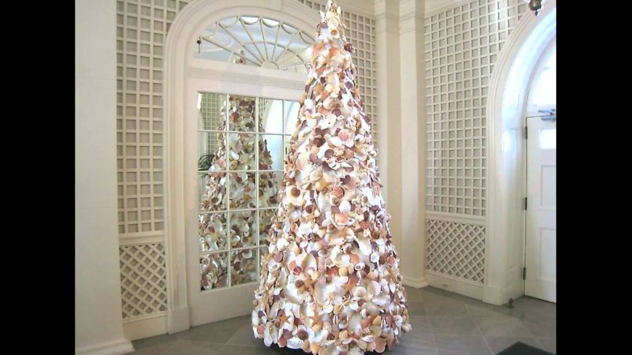 Flocked Pencil Christmas Tree