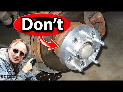 Mengapa Tidak Pasang Spacer Roda Di Mobil Anda | Scotty Kilmer