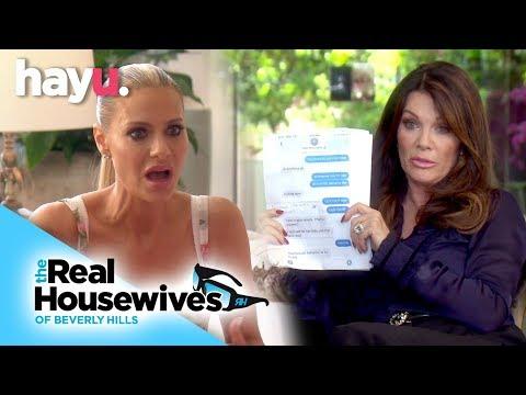 Vanderpump Reveals Teddi's Lies To Dorit | Season 9 | Real Housewives Of Beverly Hills