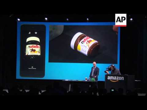 Amazon CEO Jeff Bezos unveiled the company's first and long-awaited smartphone Wednesday years after