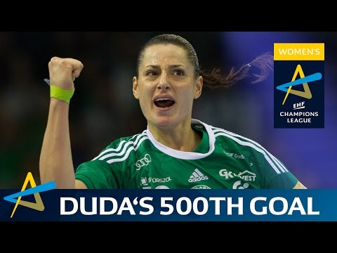 Györ back Amorim scores her 500th career CL goal