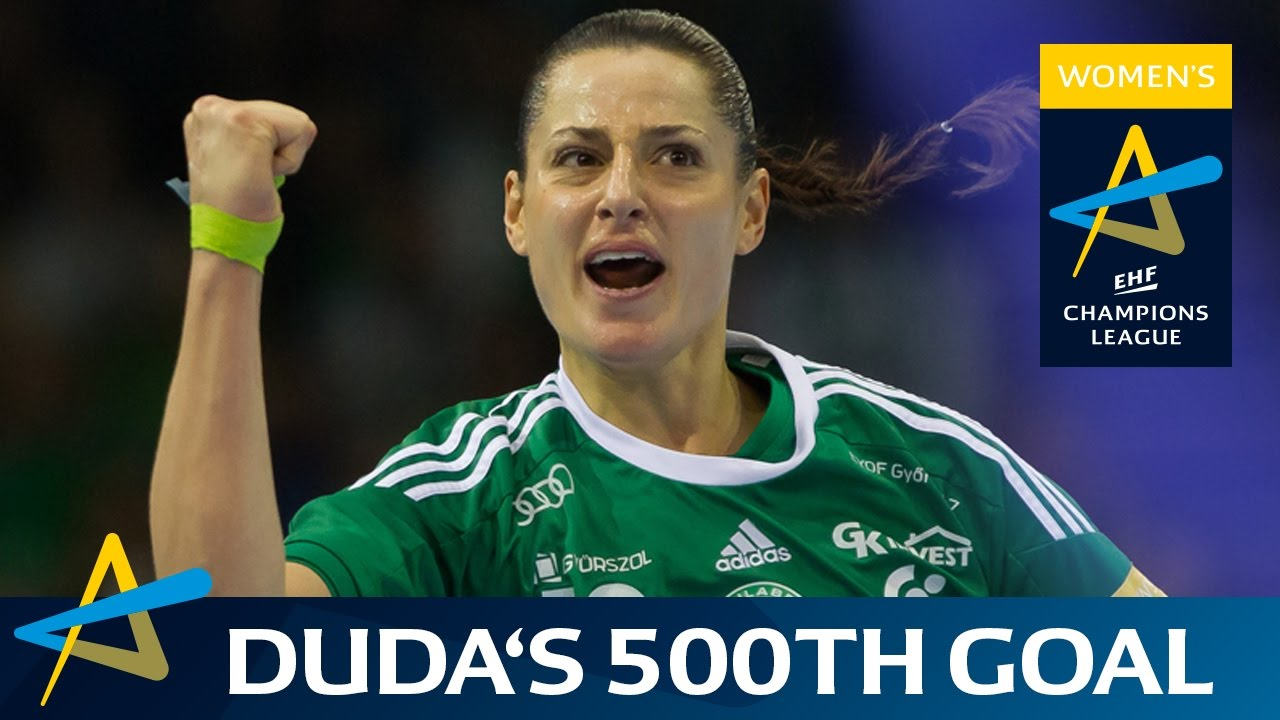 Anita Gorbicz Shows Her Guile From The Wing Women S Ehf Champions League Youtube