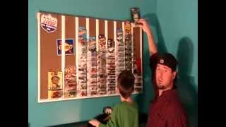 Hot Wheels Wall Build Completion Video (all For Under $20)